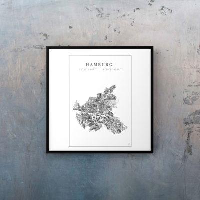 Dein Lieblingsort Hamburg – Druck