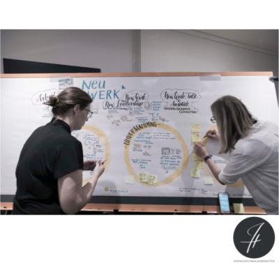 Graphic Recording – Neuwerk Premiere
