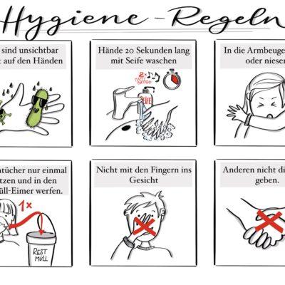 Hygiene-Regeln