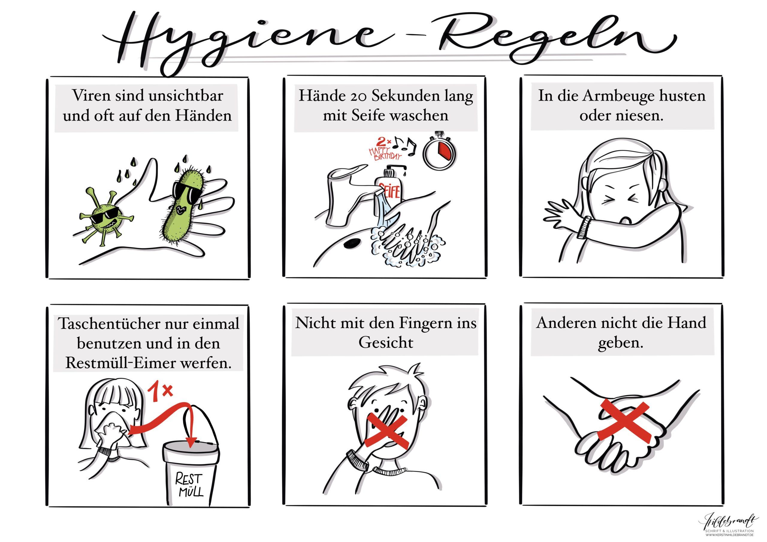 hildebrandt-illustration_hygiene-regeln_sketchnote